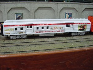 Circus Train Advertising Car