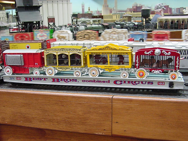 Circus Trains Twin City Model Railroad Museum